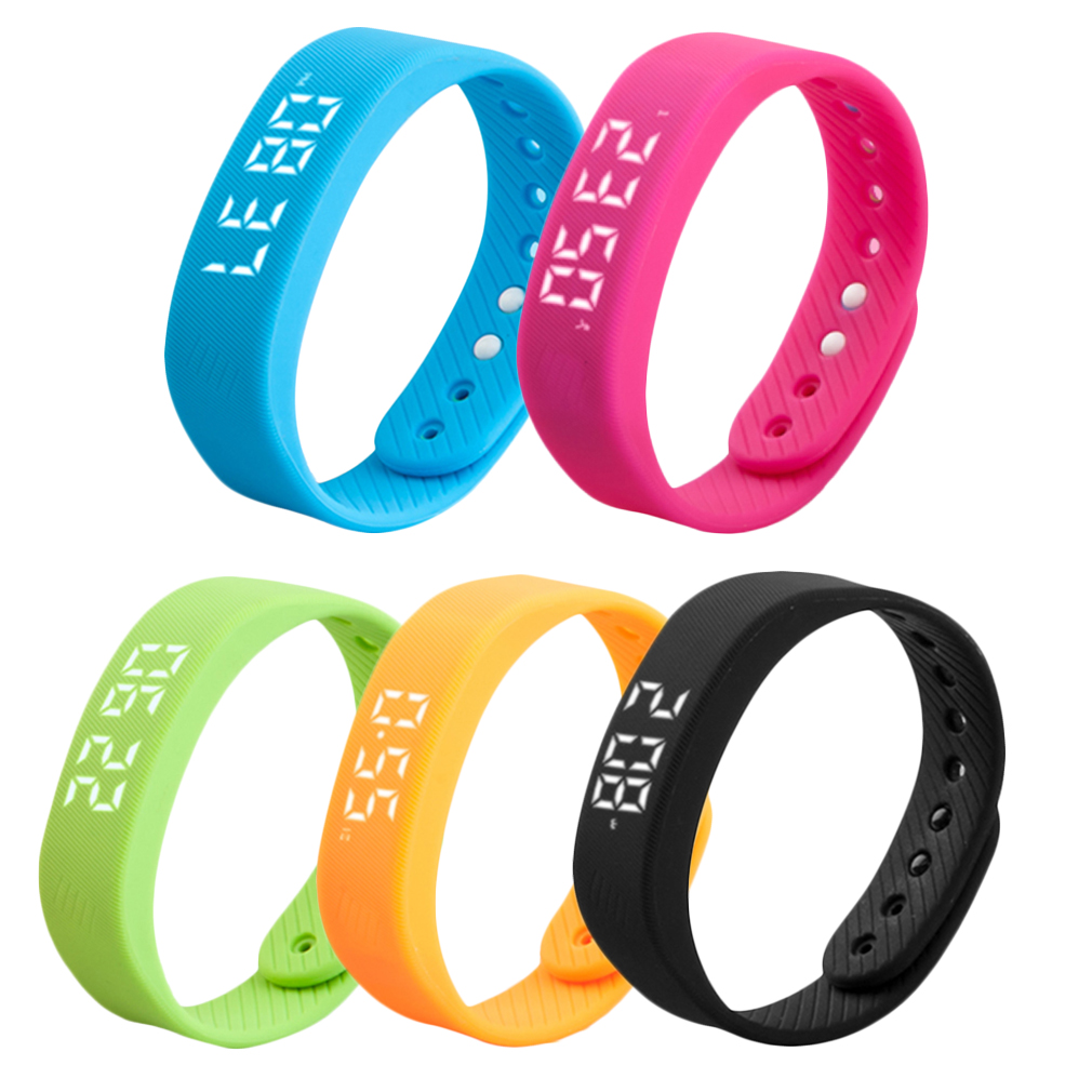 Led Smart Step Tracker Pedometer